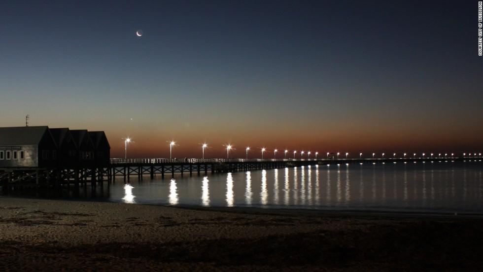 Australia's Busselton Jetty is 1,841 meters long -- the longest in the Southern Hemisphere.