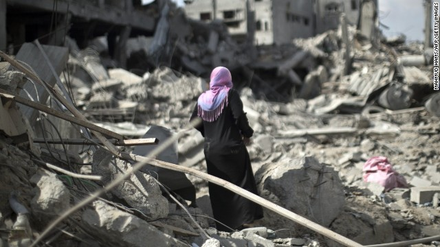 Gaza hospital, refugee camp hit