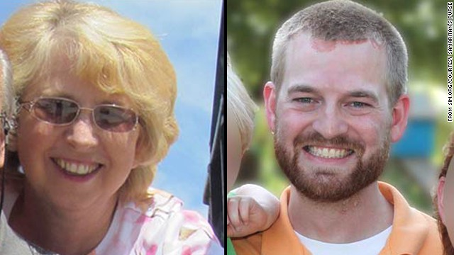 Nancy Writebol and Kent Brantly