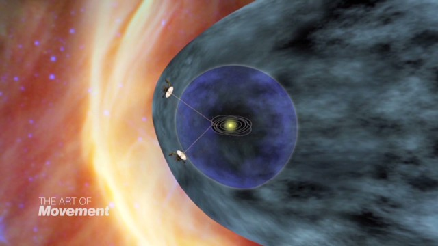 Voyager's incredible journey through space