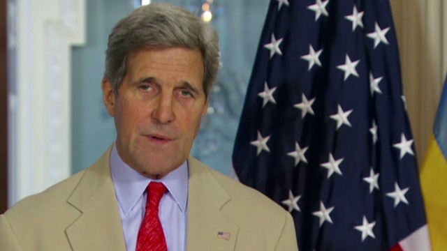 Kerry slams rebels for crash site behavior
