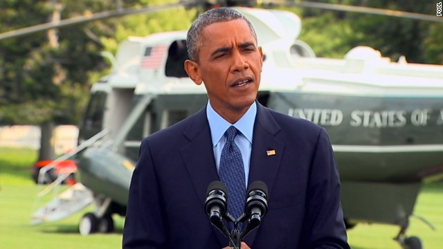 Obama announces sanctions against Russia