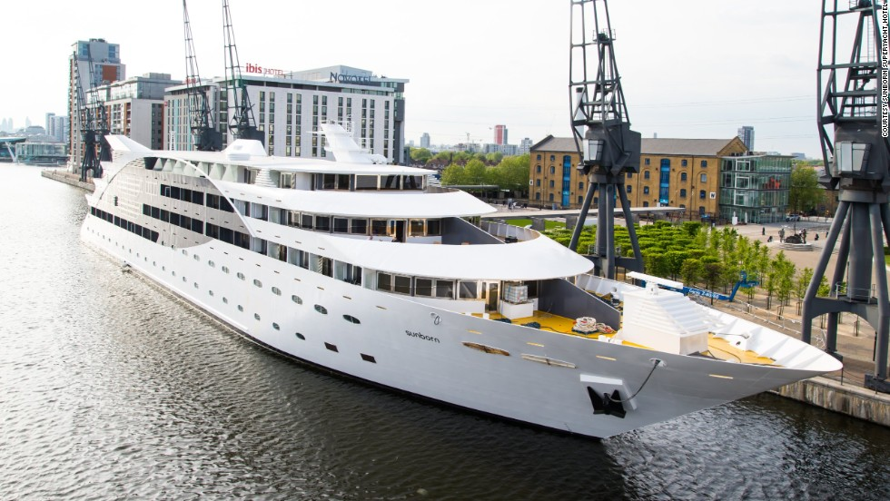 Can't afford your own superyacht? Perhaps this is within your budget ...