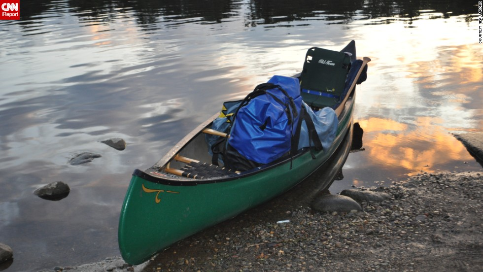 "<a href=""http://ireport.cnn.com/people/nealmoore"">Neal Moore</a> spent five months paddling the Mississippi River, from Minnesota to New Orleans. He filed iReports about <a href=""http://www.cnn.com/SPECIALS/2009/ireport.down.the.mississippi/"">his trip</a> along the way and eventually turned his experiences into a book."