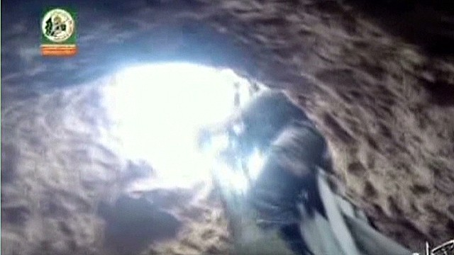 Does new video show attack from Gaza tunnels?