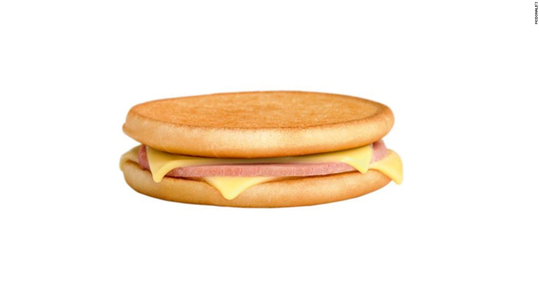 You might call it a grilled ham and cheese sandwich, but on the menu at McDonald's France, it's a Le Croque McDo.