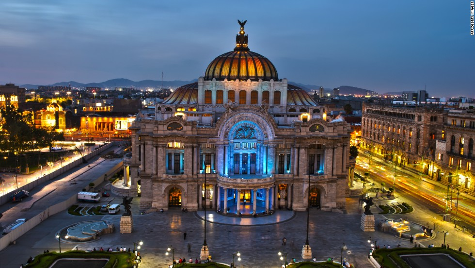 In ninth place in Travel + Leisure's 2014 best cities awards, Mexico City was rated for its experimental art scene and high design hotels.