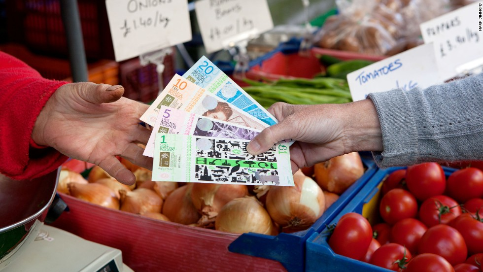 Launched in 2012, the Bristol Pound is the United Kingdom's first city-wide local currency. In all, the country is home to five local currency schemes: Totnes, Lewes, Stroud, Brixton and Bristol.