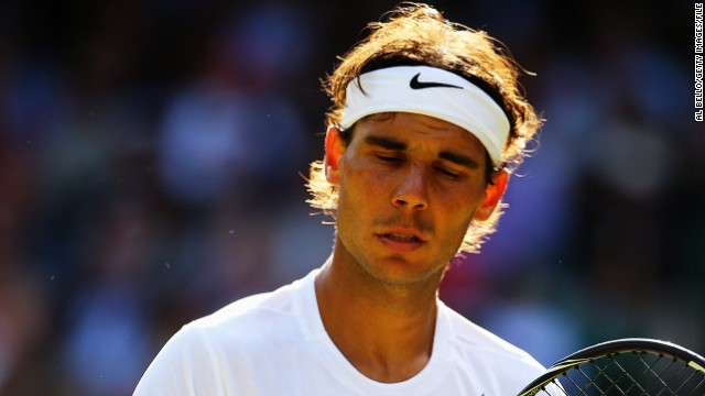 Rafael Nadal missed the U.S. Open in 2012 with a knee injury. This year, a wrist injury could rule him out.