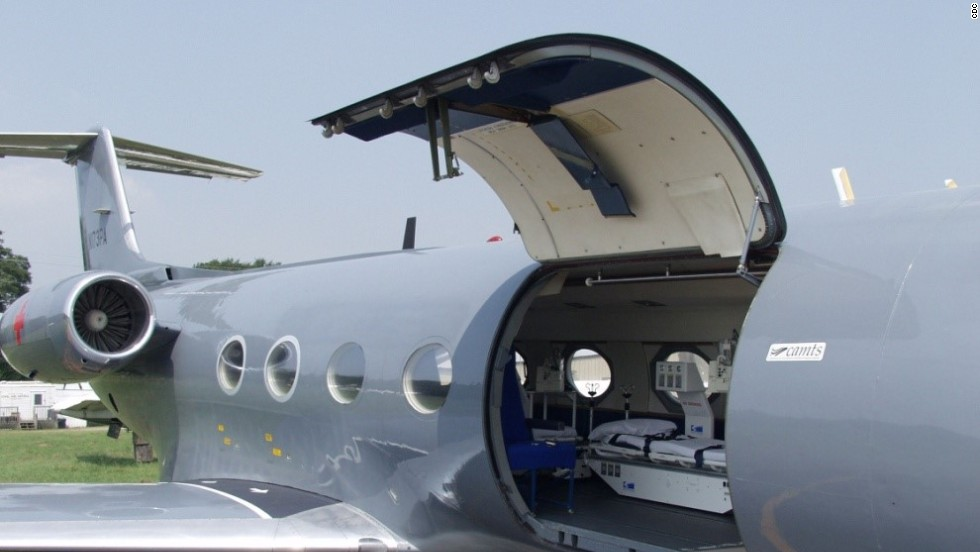 According to a CDC information document, it takes about six hours to install the system in a Gulfstream III.
