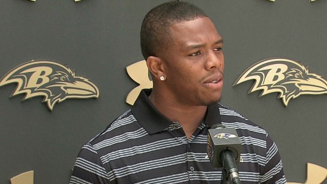 Ray Rice: 'I apologize to my wife'