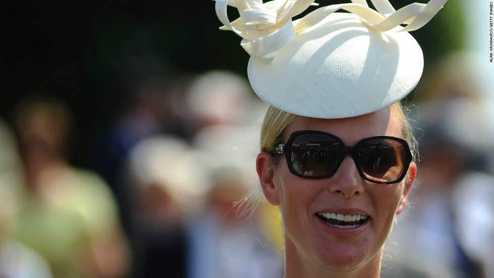 It was a royal affair, with Queen Elizabeth II's granddaughter Zara Philips also attending. Philips, daughter of Princess Anne, is a champion equestrian, winning a silver medal at the London 2012 Olympics.