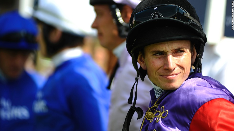 "That's not to say racing isn't also a big draw. Queen Elizabeth was hoping her horse Estimate, ridden by jockey Ryan Moore (pictured), would emerge victorious in the Goodwood Cup. Sadly it wasn't to be as Cavalryman, ridden by <a href=""/2014/06/05/sport/epsom-derby-kieren-fallon-horse-racing/index.html"" target=""_blank"">comeback king Kieren Fallon</a>, won the race."