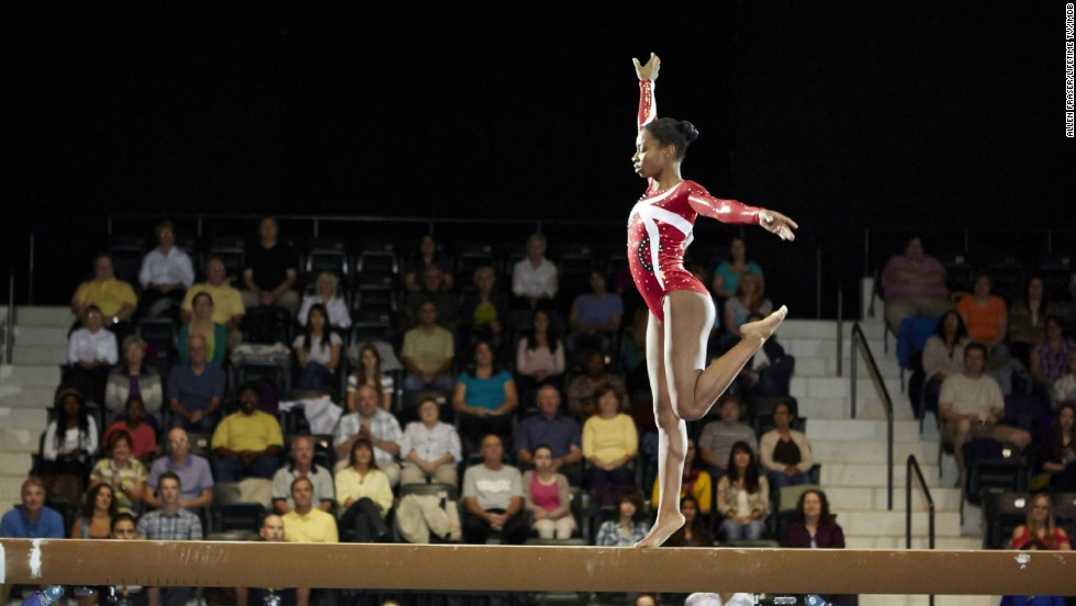 "<strong>""The Gabby Douglas Story"" (2014):</strong> A dramatization of the story of Olympian Gabby Douglas, who made history during the 2012 Summer Olympics.<strong> (Netflix) </strong>"