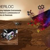 NASA Mars 2020 SHERLOC