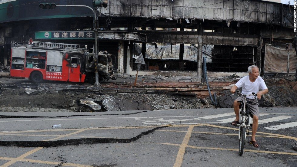 The blasts killed dozens and injured hundreds, according to initial reports.