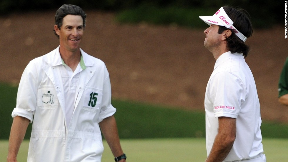 "Ted Scott has the task of keeping the notoriously emotional Bubba Watson in check. The 2012 and 2014 Masters champion wears his heart on his sleeve and Scott told CNN: ""You don't want him to get too excited, or too mad. It's about trying to watch him and getting back to that middle point where he plays his best."""