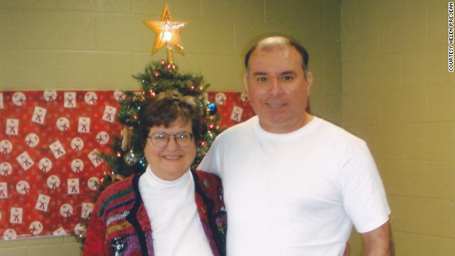 Helen Prejean visits Manuel Ortiz on Louisiana's death row. She believes he is innocent.