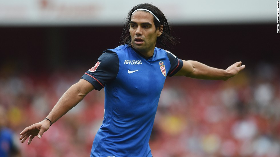 Falcao was only in England last month -- playing for Monaco in the Emirates Cup, a preseason tournament hosted by Arsenal involving the French club, Valencia and Benfica.