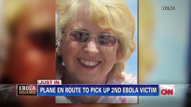 Plane en route to get second Ebola patient