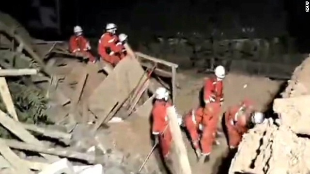 More than 390 dead in China earthquake