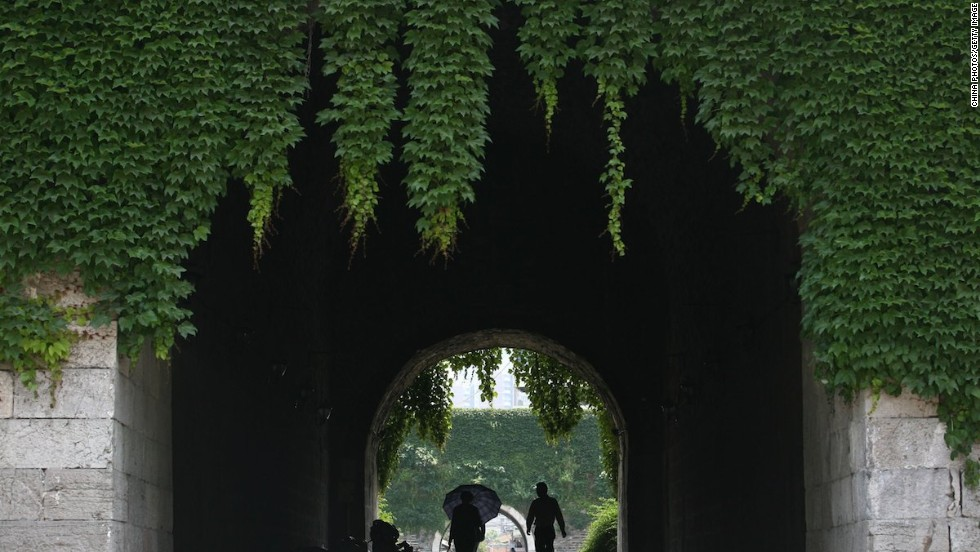 """""""In the past, the wall was the end of a city,"""" says Sun Xiaowei, president of the Nanjing urban hiking community, HigKing Group. """"Now it's the starting point of Nanjing's culture ... a direct reminder of Nanjing's eventful history."""""""