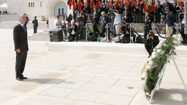 Former foes gather to remember WWI