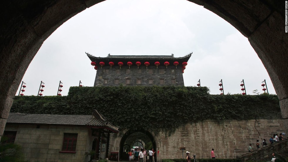 Zhonghua Gate, or the Gate of China, is a 15,168-square-meter fortification with four layers of defenses and the ruins of three grand castles inside.