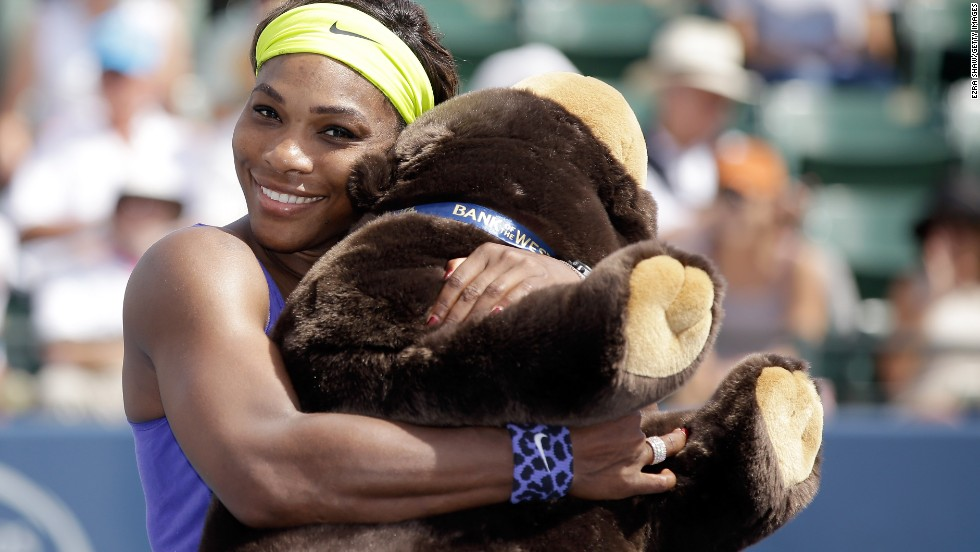 Serena Williams captured the 61st title of her career at the Bank of the West Classic in Stanford, California, and became the fifth women's tennis player to spend 200 weeks or more as world No. 1