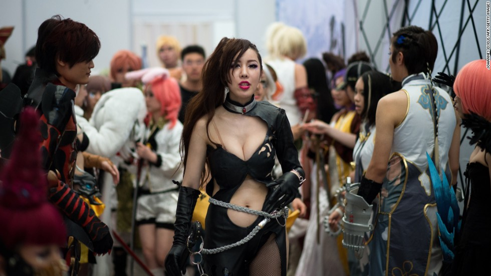 Some cosplayers prepare their costumes and choreography months in advance.