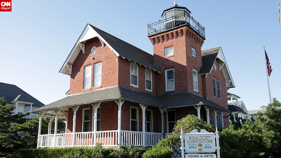 "<a href=""http://ireport.cnn.com/docs/DOC-1157287"">Andy Szeto</a> visited this nearby lighthouse when family came to see him in Sea Grit, New Jersey, in 2009: ""It did not look like a lighthouse from the front until we saw the sign and came to the side of it."""