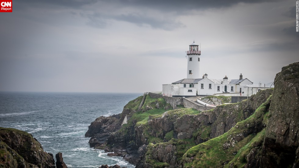 "<a href=""http://ireport.cnn.com/docs/DOC-1135122"">Doug Bardwell</a> of Columbia Station, Ohio, will drive out of his way for a good lighthouse photo any time he is on a coast. This one in Fanad Head, Ireland, was one of his favorites."