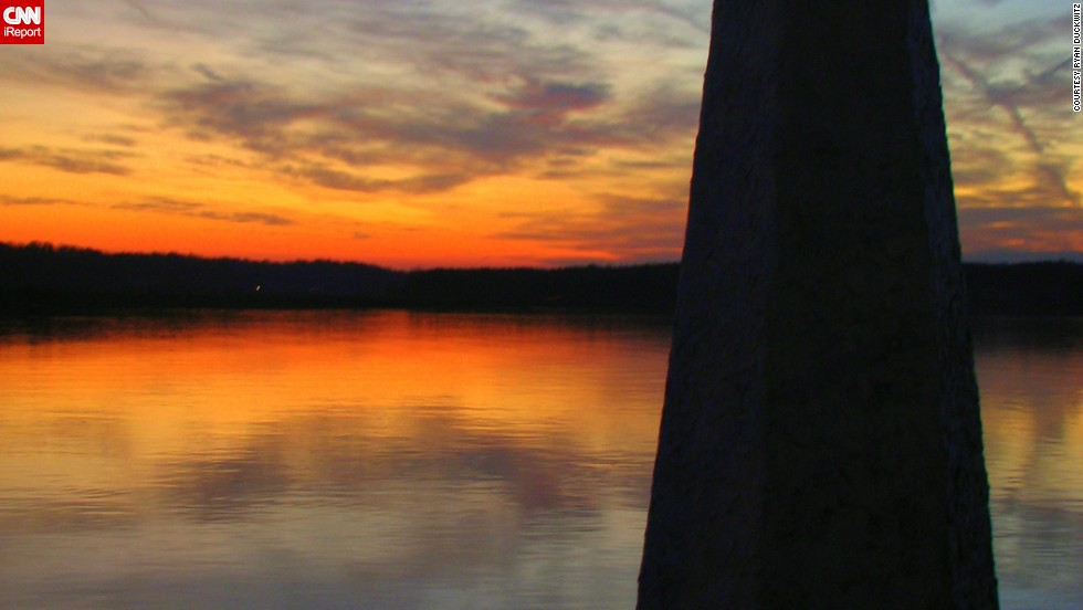 "<a href=""http://ireport.cnn.com/docs/DOC-798469"">Ryan Duckwitz</a>'s beautiful sunset photo of the Lake Anna, Virginia, lighthouse from 2010 was a matter of the right place and right time: ""I saw the great lighting and the sun going down so I told my parents to stop to see if I could grab a few quick photos,"" said the 27-year-old. ""I knew that there was a lighthouse where I told my parents to stop, so it turned out to be perfect timing."""
