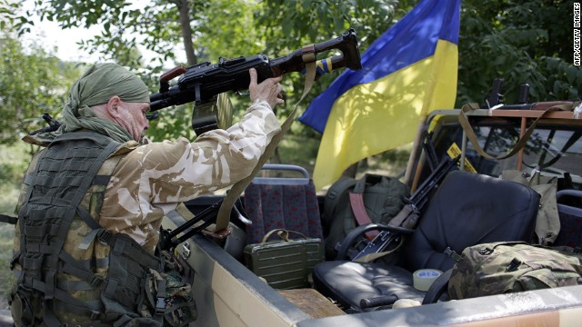 Ukrainian army advances against rebels