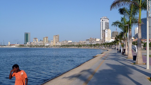 Luanda's bayside has had a $350 million facelift.