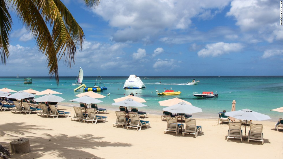 Beaches on the west side of the island, like Mullins Bay, are known for being particularly pristine. They're also where celebrities like Barbados-born Rihanna opt to take in the island's beauty.