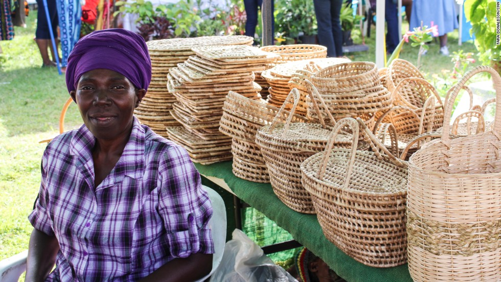 Bridgetown Market is a three-day street fair along Spring Garden Highway featuring local crafts like handwoven baskets and plaintain wine.