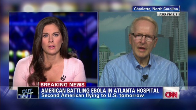 Second Ebola Patient Arrives US