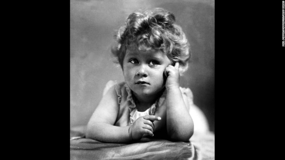 Princess Elizabeth in 1928.
