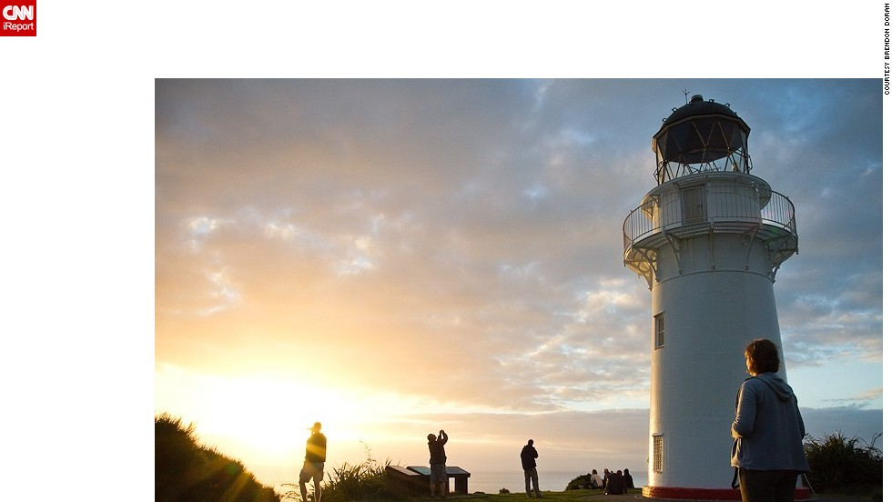 "The East Cape Lighthouse is seen at sunrise in this 2010 photo from <a href=""http://ireport.cnn.com/docs/DOC-532301"">Brendon Doran</a>. This beautiful lighthouse can be found in North Island, New Zealand."