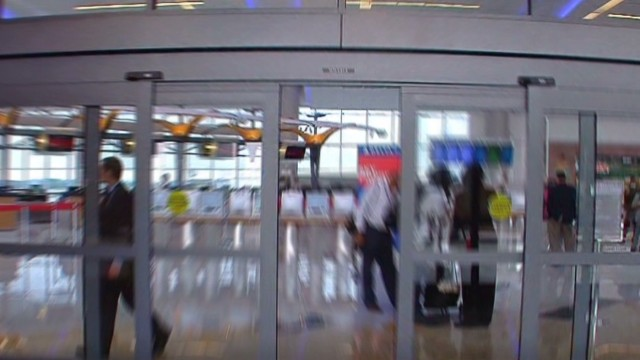 How can airports prevent Ebola spread?