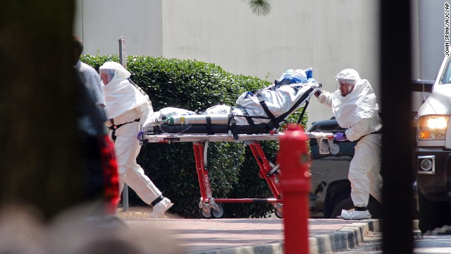 Second American Ebola patient in U.S.