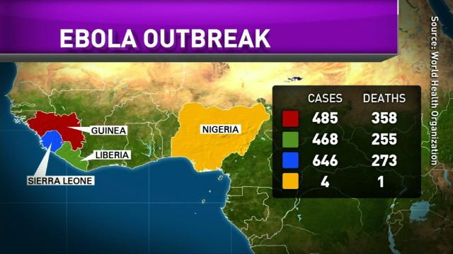 Plea for help in West Africa