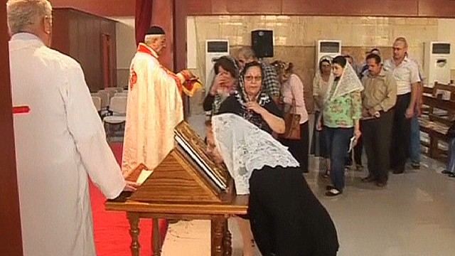 Christians in Iraq facing persecution
