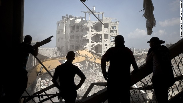 Gaza residents have a break from violence