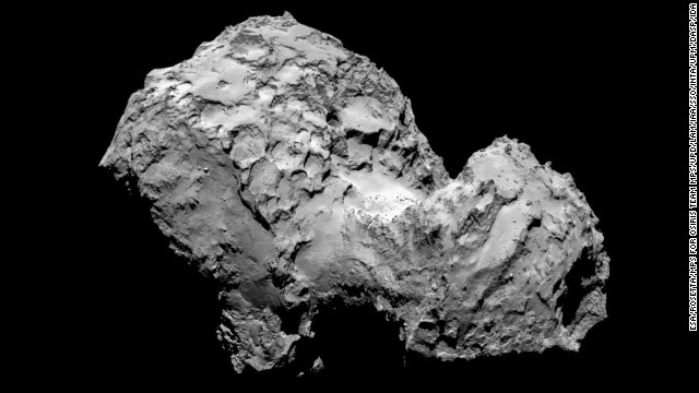 Spacecraft enters comet's orbit
