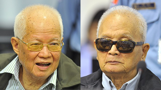 Former Khmer Rouge leaders found guilty