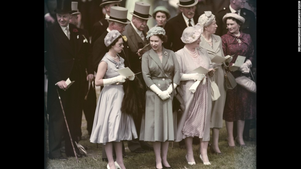 Queen Elizabeth The First Family Facts From left, Prin...