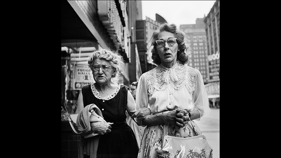 The images -- taken between the 1950s and 1990s -- went viral, and Maloof, who at first thought he had stumbled upon the opus of a seasoned photojournalist, started tracking down more of Maier's photographs. He later created the Maloof Collection, which encompasses 90% of Maier's work. <br /><br />Since then, the reclusive nanny's images of grit and glamor of the urban landscape have been exhibited around the world, drawing comparisons to the great photographers of 20th century, such as like Robert Frank and Diane Arbus. Her mysterious life spurred Maloof to make a documentary, called Finding Vivian Maier,  which is currently in cinemas.
