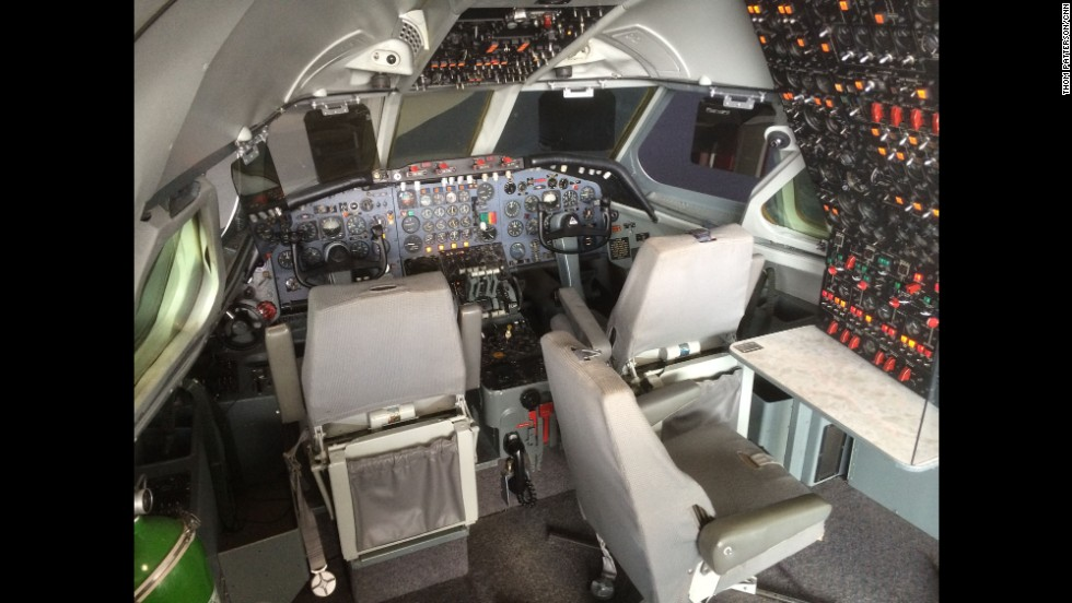 The museum's Convair 880 cockpit was the nerve center for the very first 880 test plane. In the 1960s, the 880 was said to be the world's fastest airliner, setting speed records above 700 mph, according to the museum.